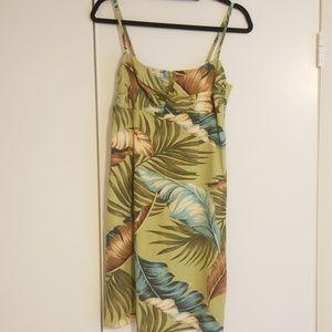 NWOT Tommy Bahamas hawaiian style mini dress